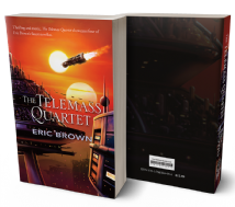 The The Telemass Quartet [trade paperback] by Eric Brown